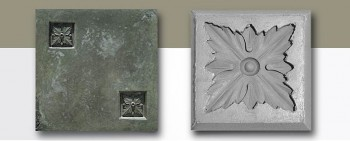 M20718B Leaf1 Medallion Mold