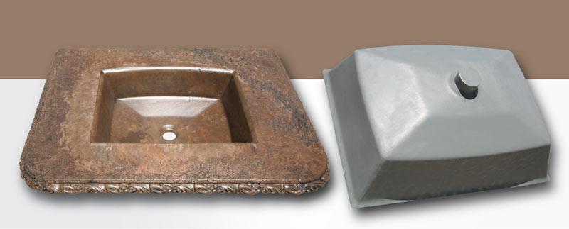 Concrete Sink Molds   StoneCrete Systems