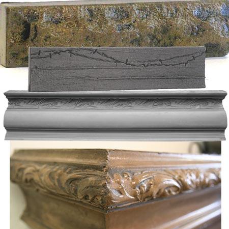 FirePlace / BackSplash Molds